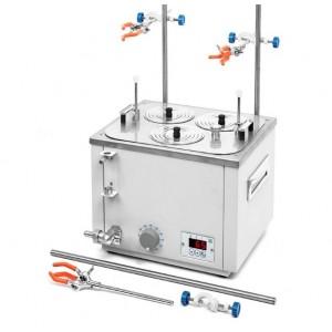 Баня лабораторная ЛБ32-Ш +5...+200 °С три рабочих места диаметром 110 мм