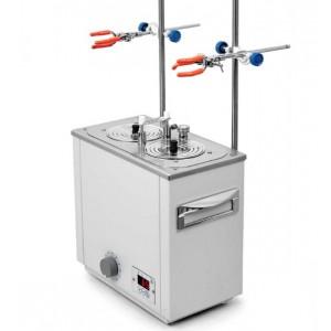 Баня лабораторная ЛБ23-Ш +5...+200 °С два рабочих места диаметром 110 мм